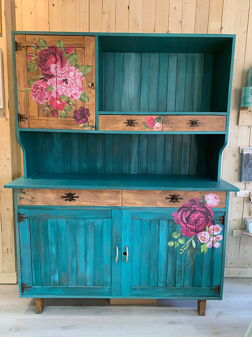 The colorful cupboard
