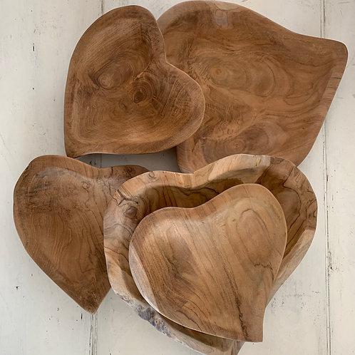The heart platter
