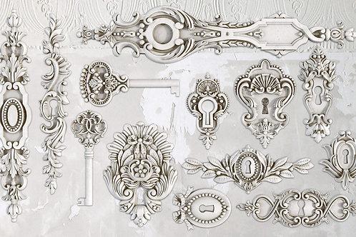 Decor mold 'Lock and Key'