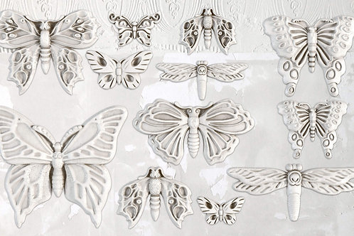 Decor mold 'Butterfly'