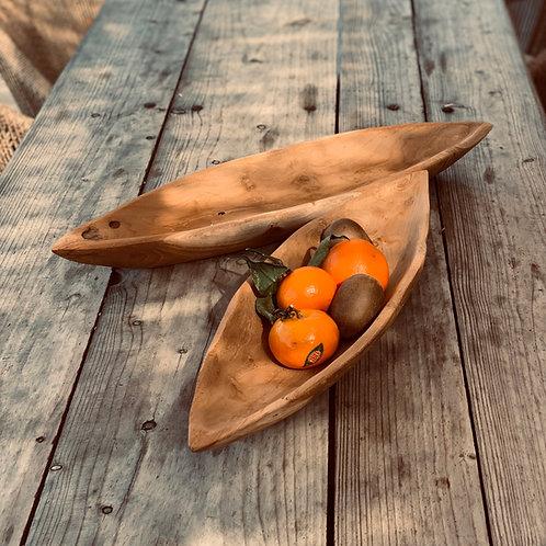 The canoe platter