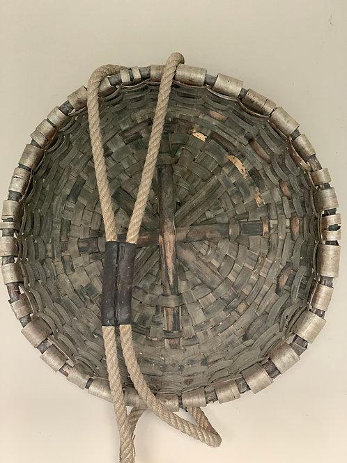 Antique wood basket