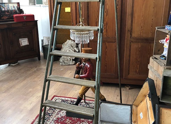 Vintage metalen ladder