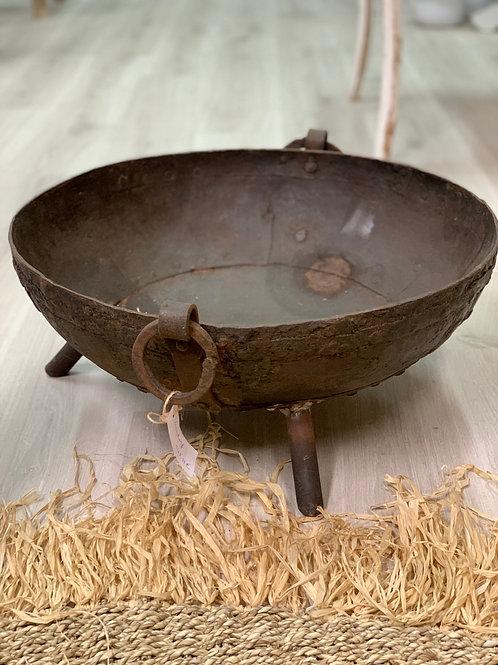 iron fire bowl