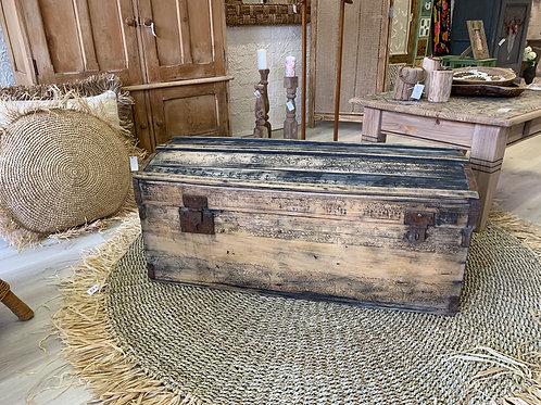 Old wooden storage chest