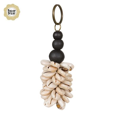 Bazar Bizar - The Canggu Keychain - Natural Black