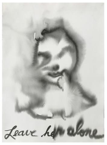 Karen Finley • Jackie #5 (Leave Her Alone) • Coagula Curatorial Los Angeles • karenfinley.com