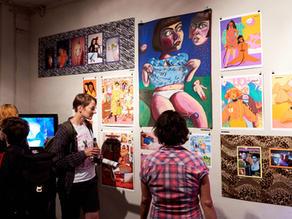 Lesley Launch Exhibition