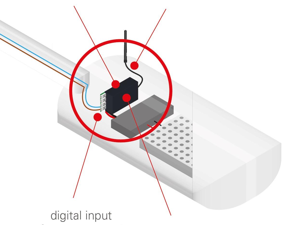 Controller lampa interior