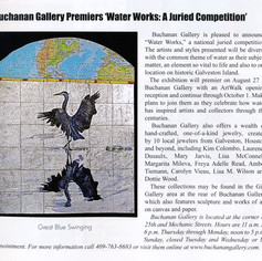 Article with Great Blue Heron