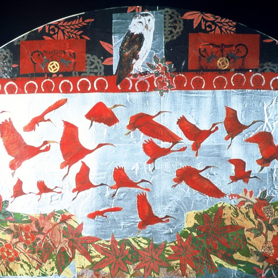 Ibis in Flight, 2007