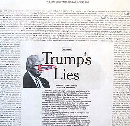 Trump Lies!