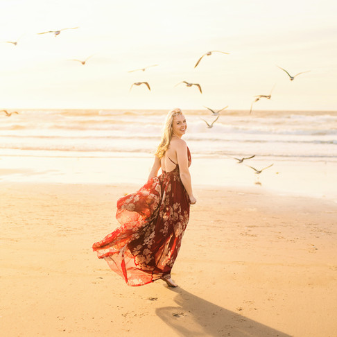Stephanie Nash | Oso Flaco Pismo Beach Portraits | CeJae Photography