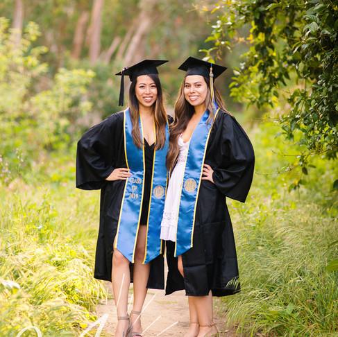 Michelle & Katie || UCSB Grad Portraits || CeJae Photography