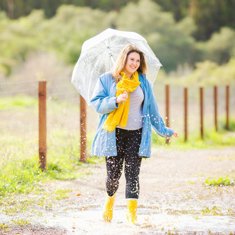 Patricia || Santa Maria Senior Portraits in the Rain || CeJae Photography