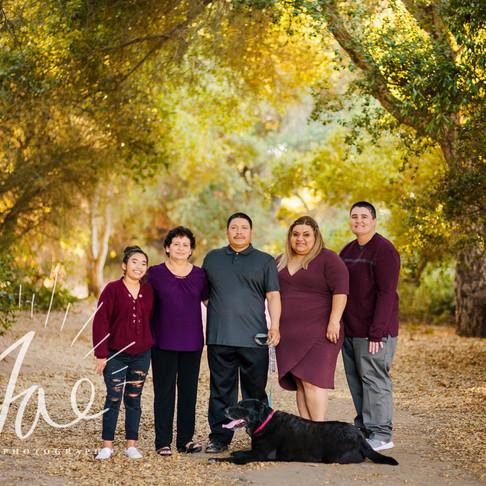 Parra Family || Santa Barbara Family Portraits || CeJae Photography