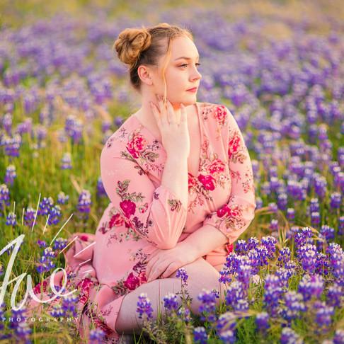 Jillian || Wildflower Senior Portraits, Central Coast CA || CeJae Photography