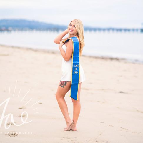 Hannah || UCSB Grad Portraits || CeJae Photography