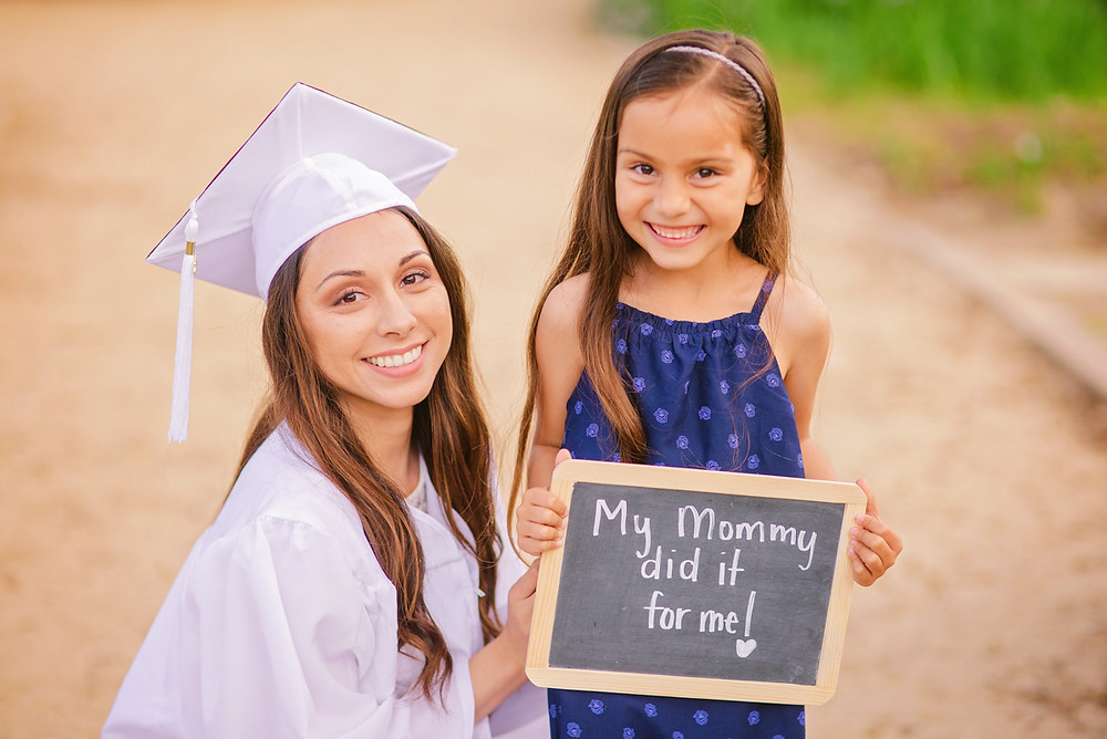 my mommy did it for me sign
