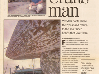 SAN DIEGO UNION TRIBUNE: CRAFTS MAN