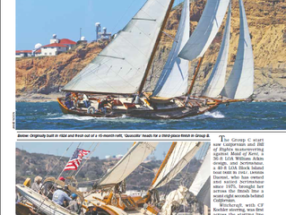 LATITUDE 38: AMERICA'S SCHOONER CUP — A BATTLE WORTHY OF A POSTCARD