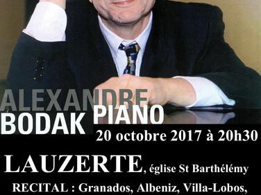 Magnifique concert vendredi 20 octobre