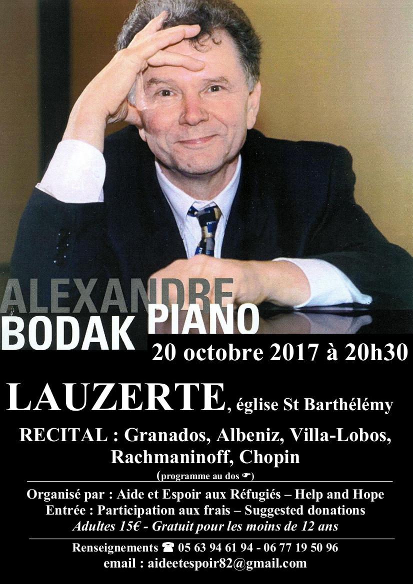 Eglise St Bathélemy, Lauzerte 20h30