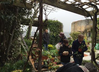 Vide-Jardin pour les réfugiés
