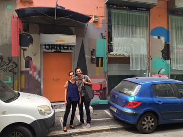 Visit to the Orange House
