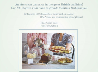 Tea Party and Cake Sale