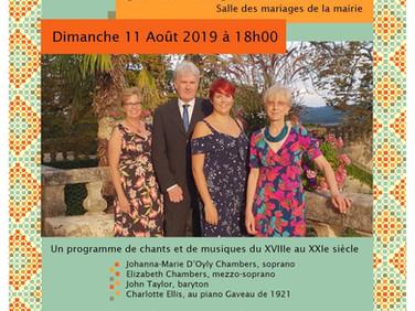 Concert au Chateau de Fumel