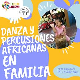 danzas percusiones africanas para niños