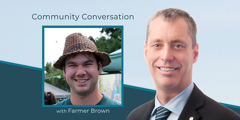 Sowing Local Food Security: A Community Conversation with Farmer Brown