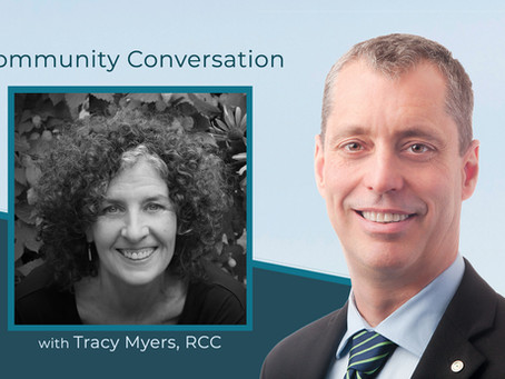Community Conversation with Tracy Myers