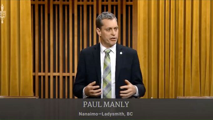 Paul Manly expresses concerns to government about the new NAFTA agreement