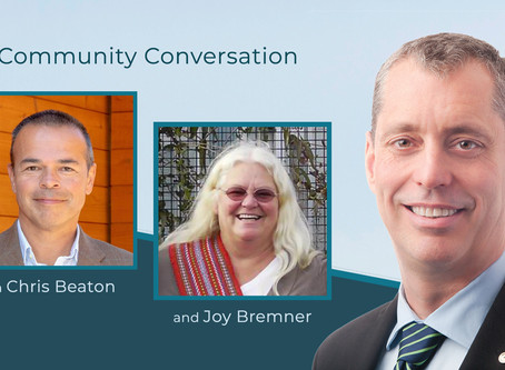 Community Conversation with Joy Bremner & Chris Beaton