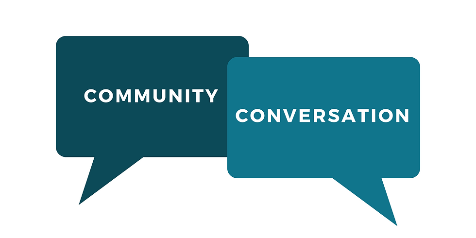 Community Conversation with Chief Gordon Edwards and Councillor Brent Edwards