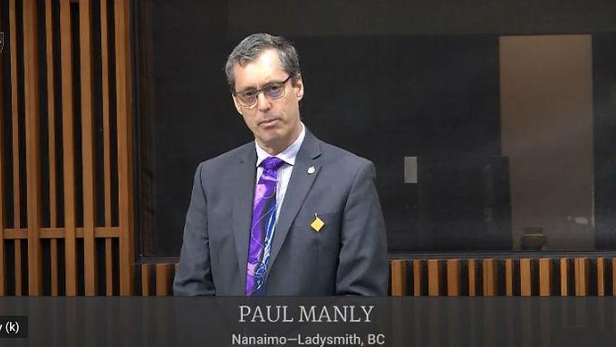 Paul Manly asks that Parliament follow public health recommendations