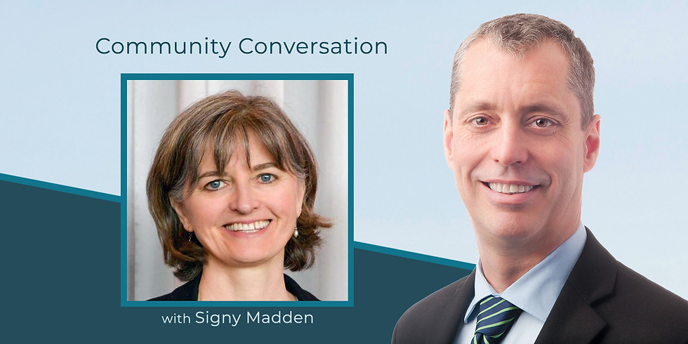 Front Line Social Service: A Community Conversation with Signy Madden