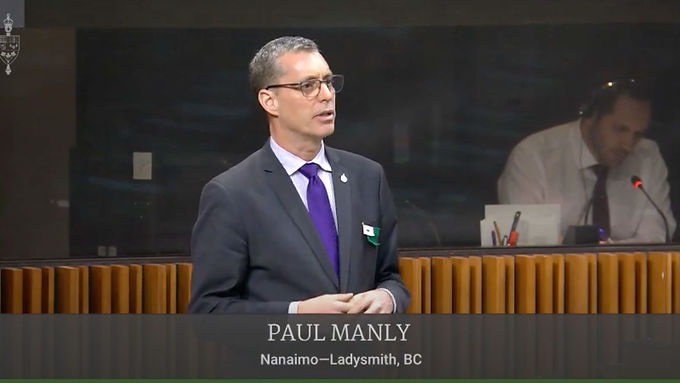 Paul Manly calls on the government to respect UNDRIP and cease construction of the Site C Dam