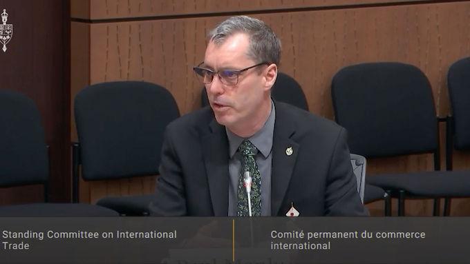 Paul Manly presents an amendment on CUSMA