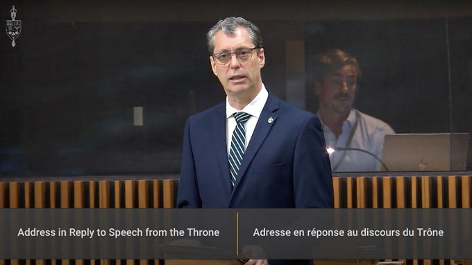 The Throne Speech does not reflect the urgency of the moment