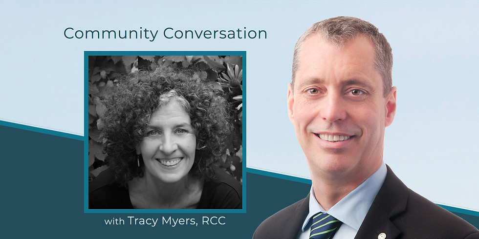 Isolation, Connection and Mental Health: A Community Conversation with Tracy Myers