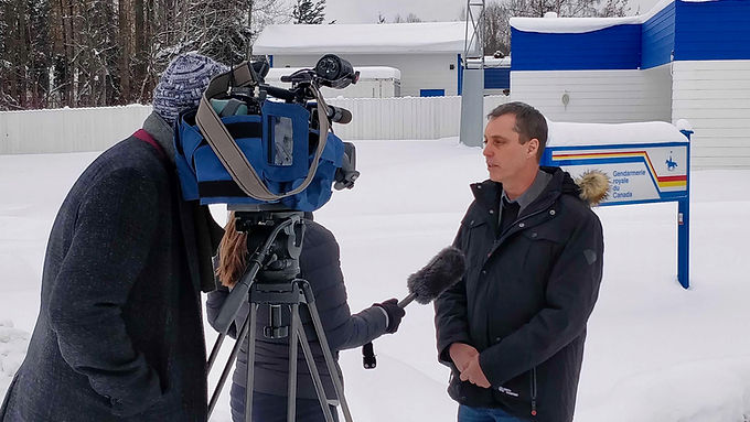 Paul Manly Visits Wet'suwet'en Territory