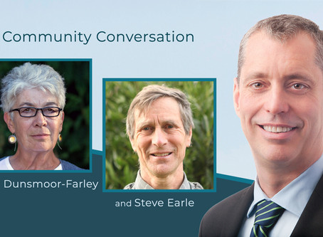 Community Conversation with Dyan Dunsmoor-Farley & Steve Earle