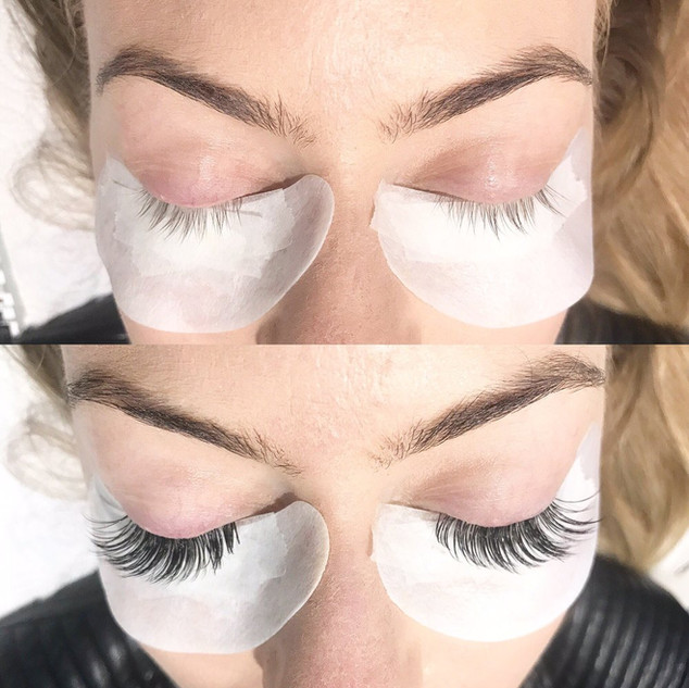 eyelash extension volume