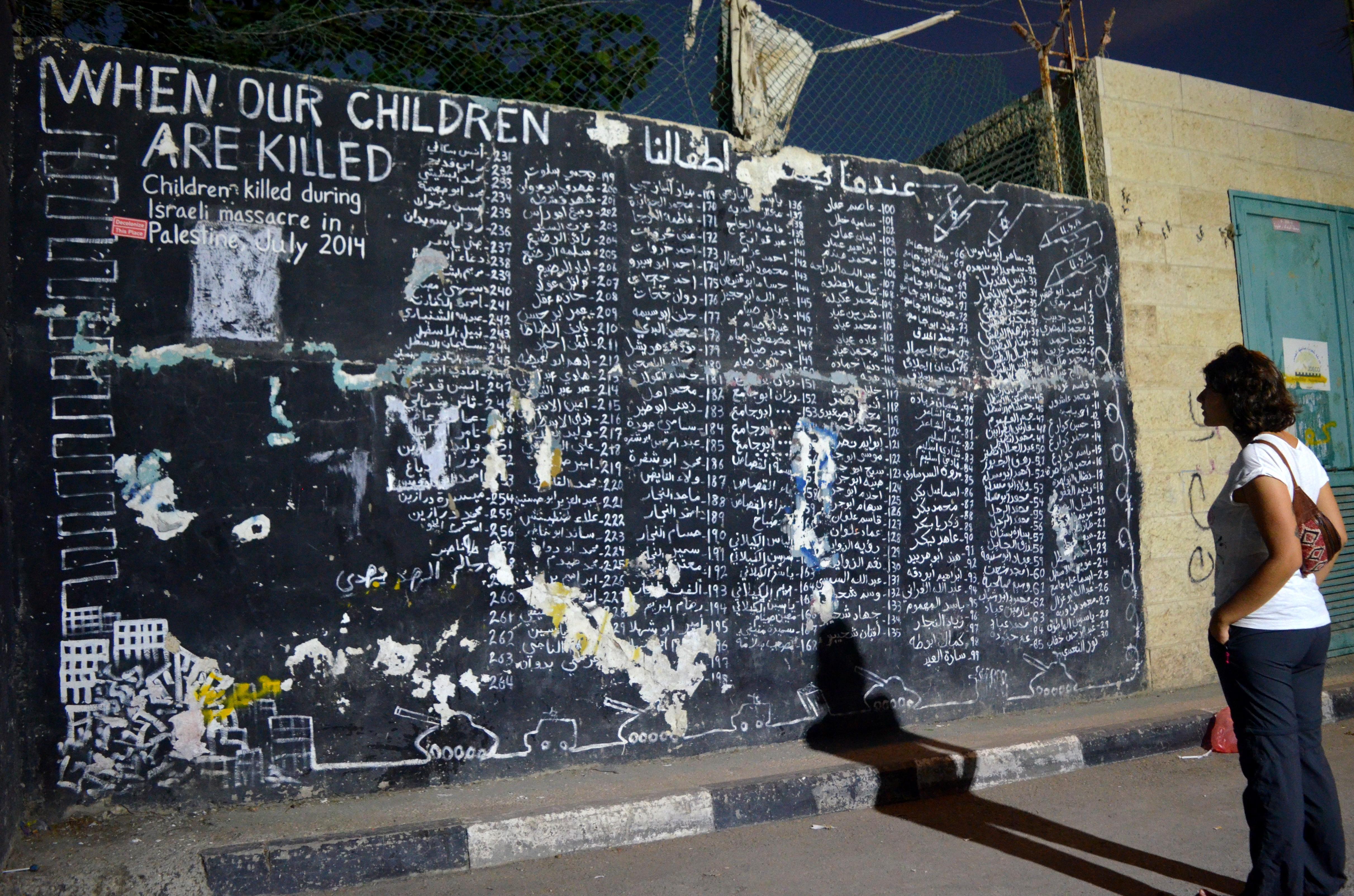 Niños fallecidos en masacre de 2014