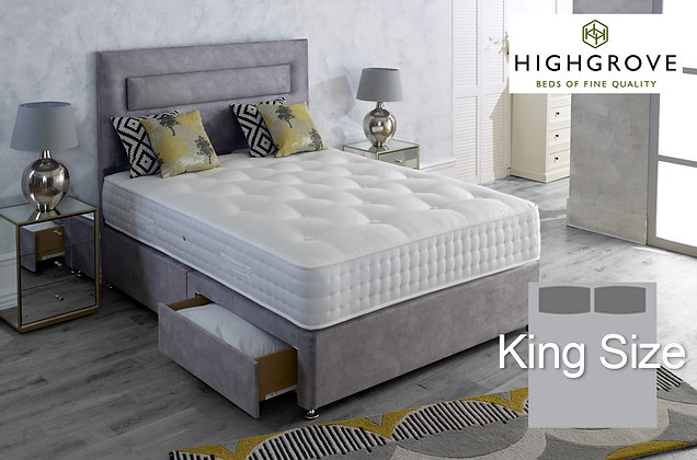 Highgrove Mayfield Ortho King Size Divan Bed