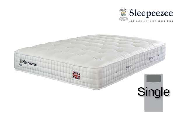 Sleepeezee Perfectly British Regent 2600 Single Mattress