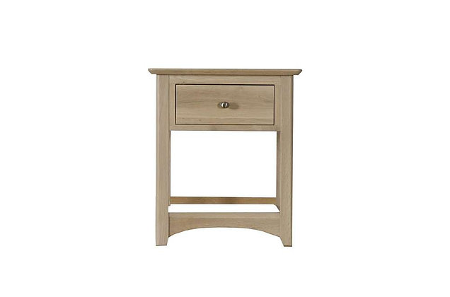 Charmwood 1 Drawer Bedside